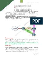 1. EIGRP OSPF Redistribution SIM (Formatted)