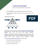 Pengertian Sistem Informasi Eksekutif