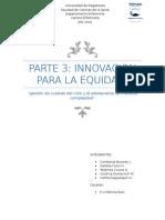 Innovación Para La Equidad
