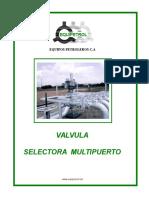 Manual Valvula Multi-puerto