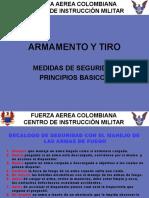 MEDIDAS SEGURIDAD PRINCIPIOS TIRO.ppt