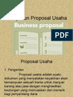 Penyusun Proposal Usaha