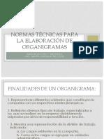 6. Normas Técnicas Para La Elaboración de Organigramas