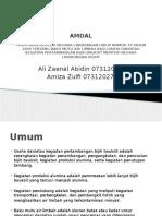 AMDAL Ppt1 - Copy