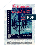House on Haunted Hill with Widseth and Deor A4 poster