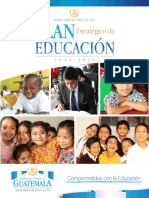 Plan-educacion Estratégico 2016 - 2020