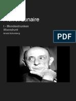Pierrot Lunaire - Mondestrunken