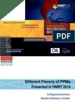 CMMI High Maturity Best Practices HMBP 2010
