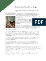Tower Dari Stik Es Krim