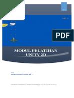 Modul Pelatihan Unity 2D