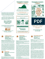 Fauquier County Farm Tour 2016 brochure