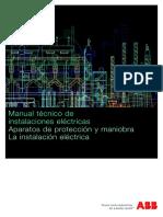 Manual Tecnico de Instalaciones Electricas. ABB