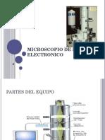 Microscopio de Barrido Electronico