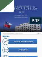 Estado de la Hacienda Pública 2016