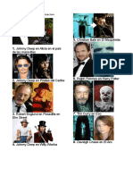 Personajes Con Caracterizacion
