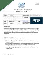 AUD IDES 268 Syllabus