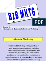 Chapter What is Industrial Marketin