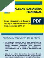 Realidad Ganadera Nacional 2014-1
