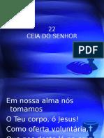 22 - Ceia do Senhor.ppt
