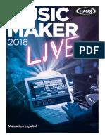 Manual Musicmaker2016live Es
