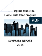 2015 Home Rule Summary Report