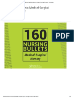 160 Nursing Bullets_ Medical-Surgical Nursing Reviewer