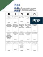 Bingo de La Amistad Catic