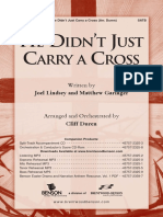 He Didnt Just Carry a Cross PDF
