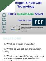 hydrogenandfuelcelltechnologyforasustainablefuture-090315041058-phpapp01