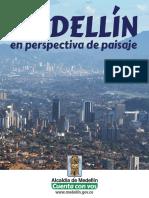 Medellin en perspectiva de paisaje