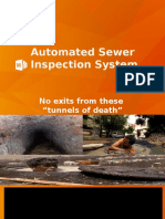 Automated Sewage Inspection System