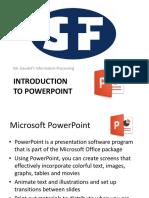 powerpoint 2016- sf gaudet