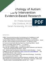 Autism Workshop Evidence Based 8-1-15
