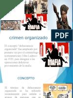 Antecedentes de La Criminalidad