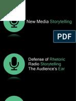 New Media Storytelling