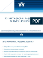 Global Passenger Survey 2013 Highlights