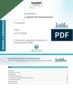Consultoria y Gestion de Financiamiento