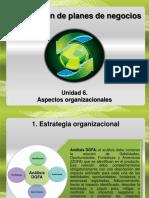 6. Aspectos Organizacionales