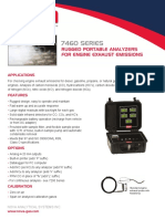 7460 Engine Exhaust Analyzers