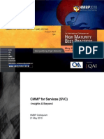 CMMI High Maturity Best Practices HMBP 2010