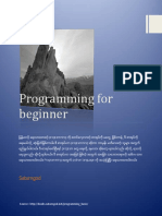 Programming for Beginner