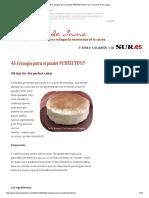 45 Consejos Para El Pastel PERFECTO!!!!! _ La Cocina de Inma López