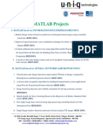 Matlab Ieee 2015 Project List