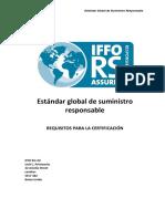 IFFO RS Estándar Issue 1.6 Spa Junio 14