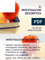 2) Inv. Descriptiva