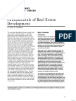 Real Estate Development
