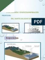 Evaporacion Evapotranspiracion Expo