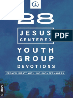 28 Jesus Centered Youth Group Devotions Sample