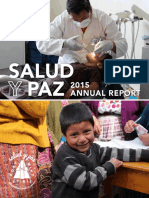Salud y Paz Annual Report