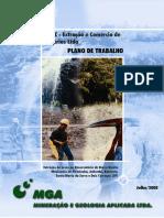 Plano de Trabalho Sobre a Extracao de Areia No Reservatorio de Barra Bonita